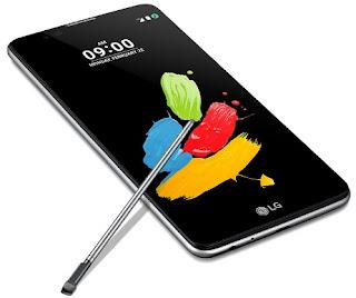 Hp Android LG Koneksi 4G LTE LG Stylus 2