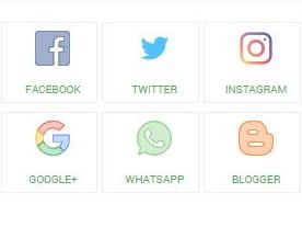 Cara Membuat Widget Social Media Responsive