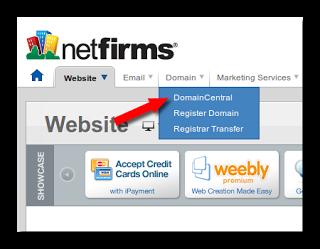 شرح بالصور طريقة ربط دومين من شركة NetFirms بمدونتك في بلوجر
