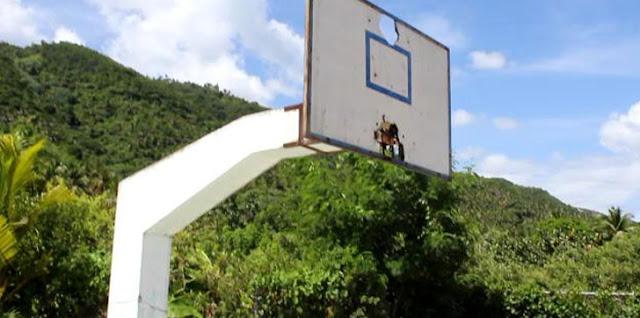 Atletas del municipio de Sánchez solicitan reparar las instalaciones deportivas