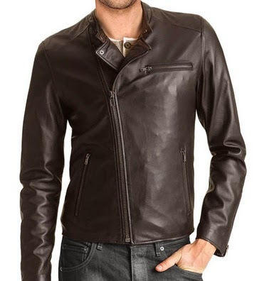 gambar jaket kulit pria