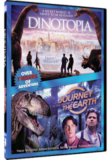 DVD Review - Dinotopia & Journey to the Center of the Earth - Fantasy Double Feature