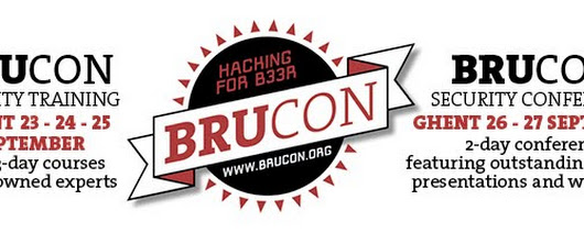 BruCON 0x06 CFP is open