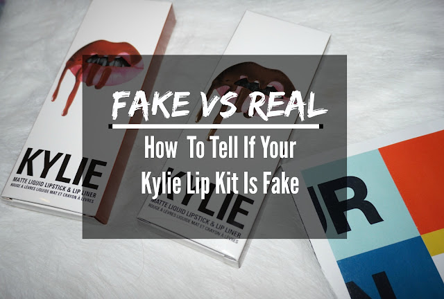 How To Tell If Your Kylie Lip Kit is Fake