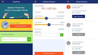 Aplikasi Pinjam uang online UangTeman Untuk Mereka yang Perlu Dana Mendadak