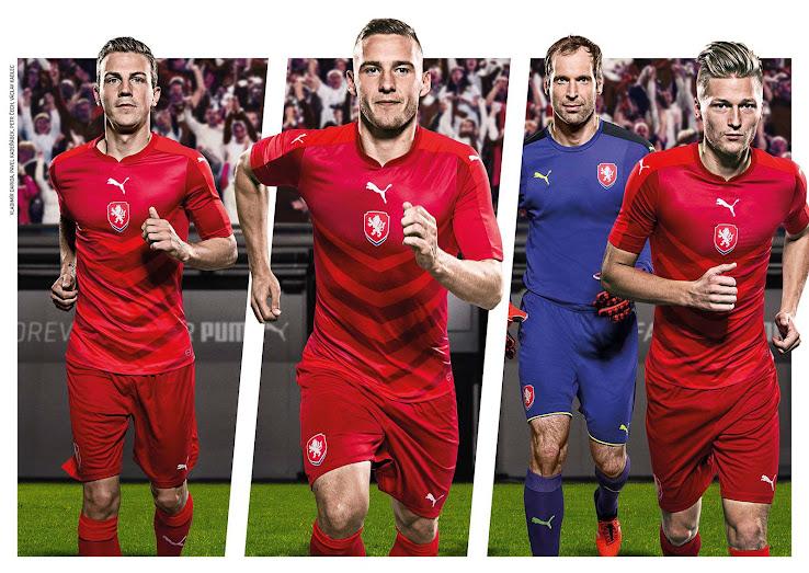 d4c932b4962 Czech Republic Euro 2016 Home Kit Released - Footy Headlines