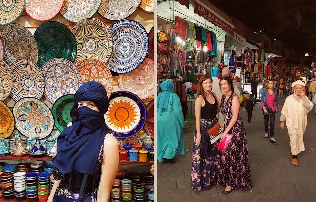 Marrakech market Jemaa el fna