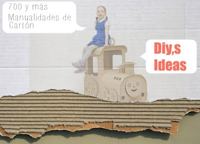 700 y mas manualidades de carton con tutoriales e ideas