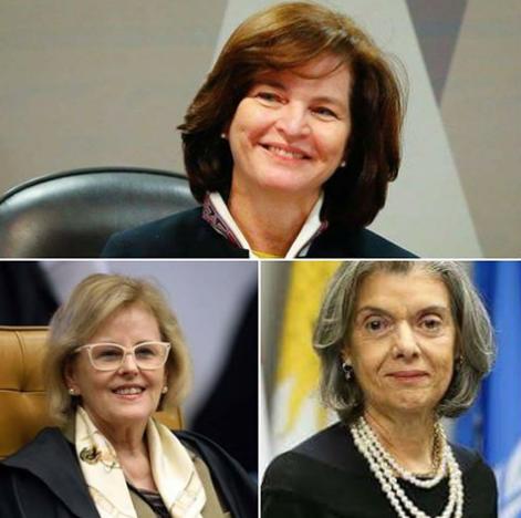 Procuradora Dodge, Ministras Rosa Weber e Carmem Lucia do STF, as mulheres superpoderosas que salvaram o pais e mandaram Lula para a cadeia