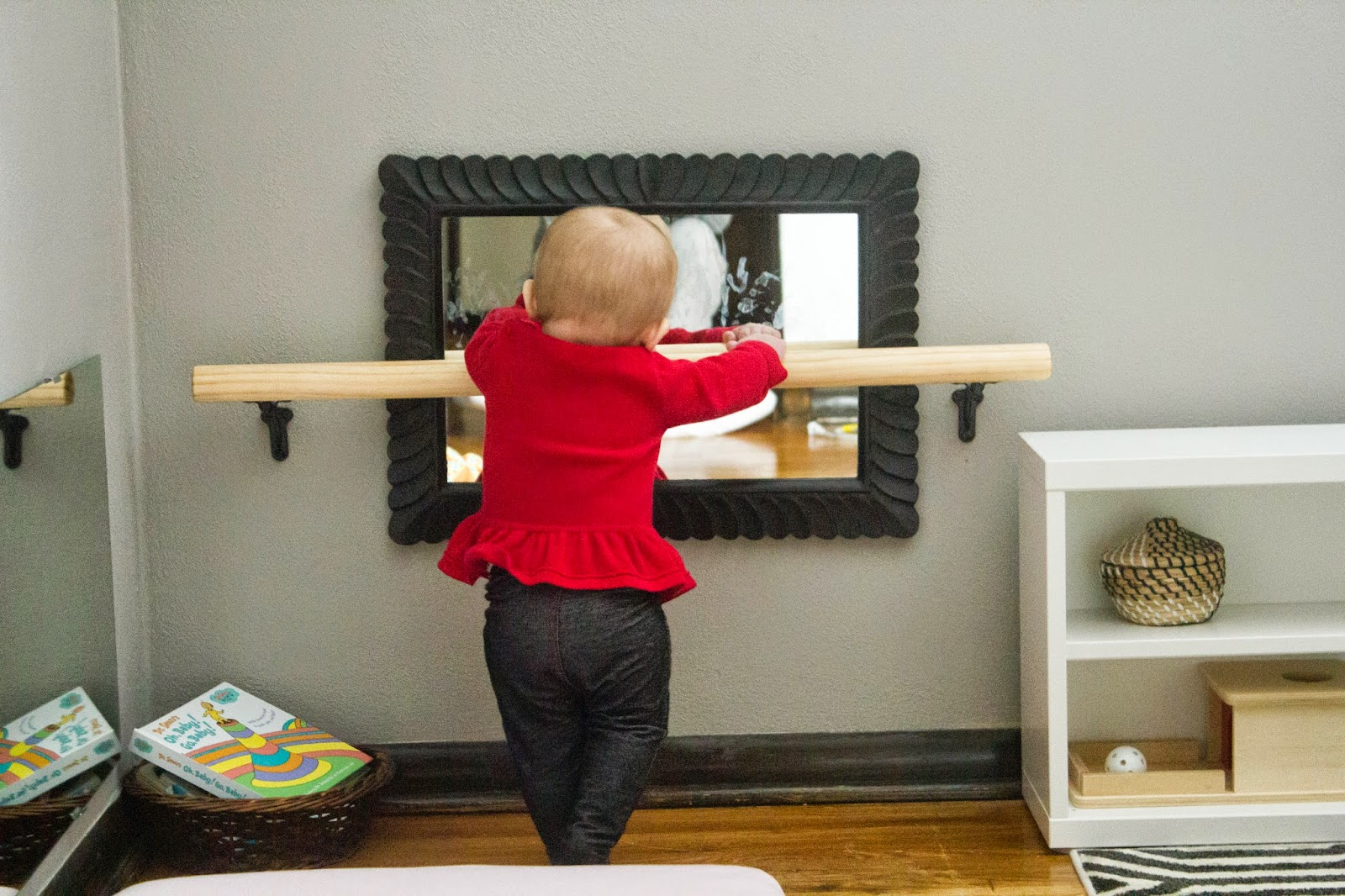 Diy Montessori Pull Up Bar