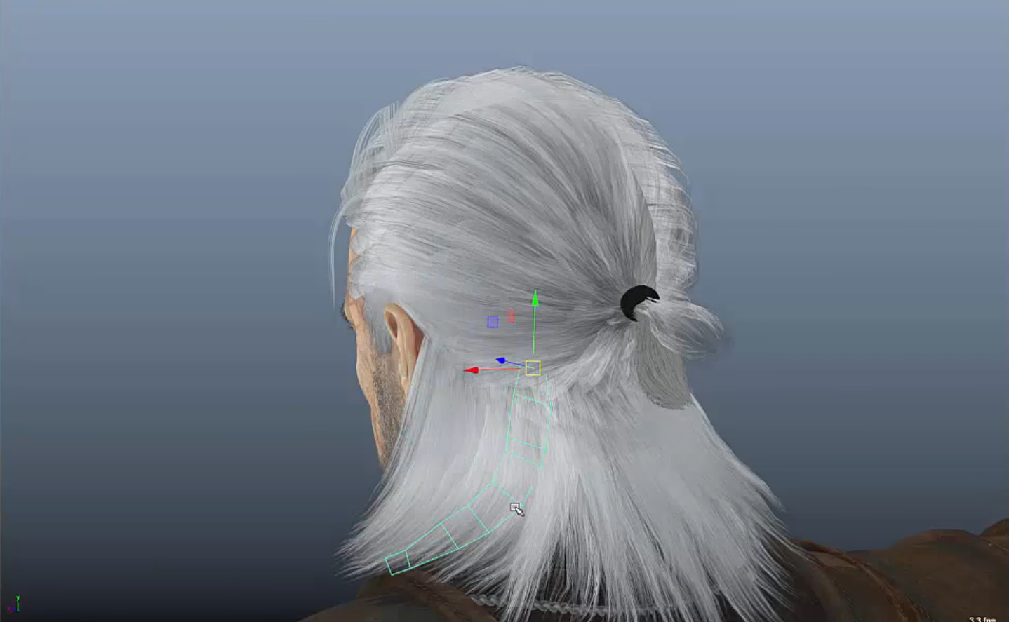 How to use XGen for Game Character Hair | Maya 2017 | CG