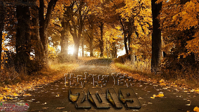 Happy new year 2019 1080p Nature Background