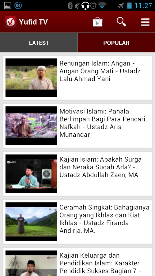 Yufid TV for Android App Review