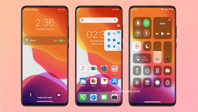 iOS 13X Pro MIUI Theme | Fully Featured iOS Theme for Xiaomi Devices