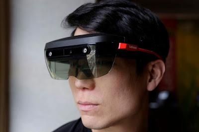 fcc20c47e A Lenovo não quer que a MS tenha todo o protagonismo na realidade aumentada  e por isso avança com o lançamento dos seus óculos ThinkReality para AR e  VR.