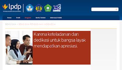 LPDP beasiswa Indonesia