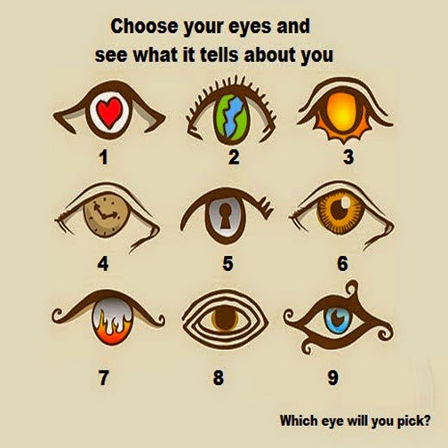 A Fun Personally Test! Choose An Eye And See What It
