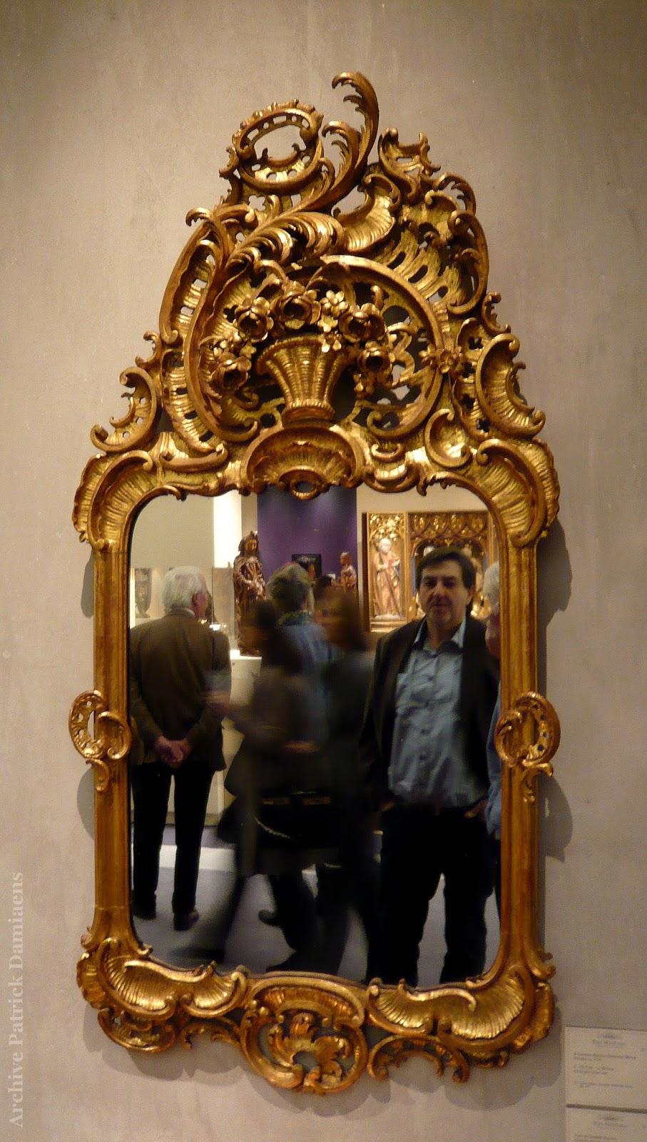Sculpture ornementale patrick damiaens cadres de miroirs for Histoire du miroir