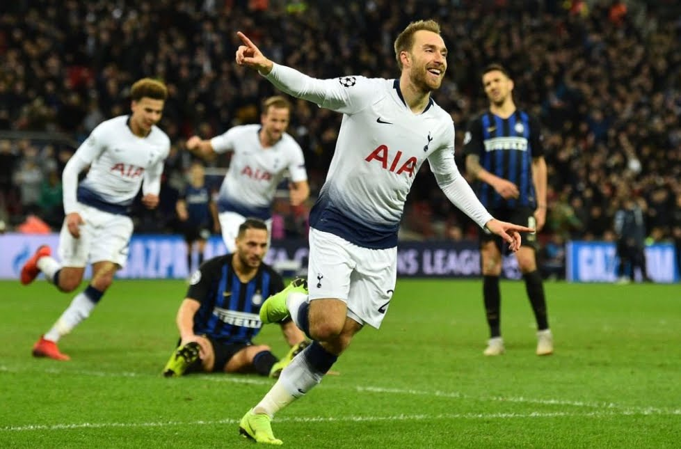 Inter sconfitta al Wembley di Londra dal Tottenham, qualificazione a rischio.