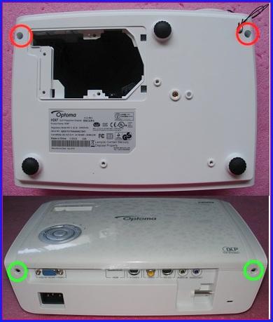 ELECTRONIC EQUIPMENT REPAIR CENTRE : OPTOMA HD67 DLP