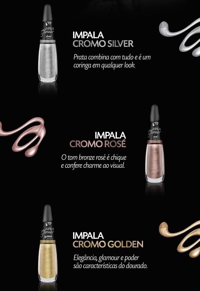 mini coleção glamour da impala