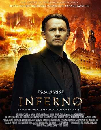 Poster Of Hollywood Film Watch Online Inferno 2016 Full Movie Download Free Watch Online 300MB
