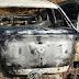 Carro queimado é encontrado na estrada do Benfica em Santo Antônio de Jesus