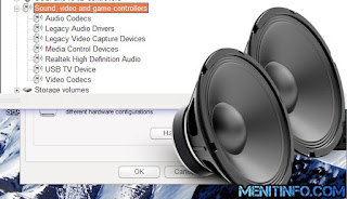 Mengatasi Driver Sound Error di Windows 7
