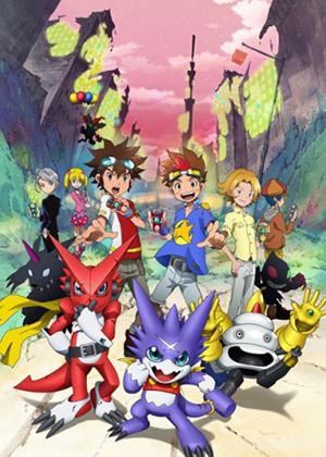 Digimon Xros Wars: Toki wo Kakeru Shounen Hunter-tachi [25/25] [HDL] 50MB [Sub Español] [MEGA]