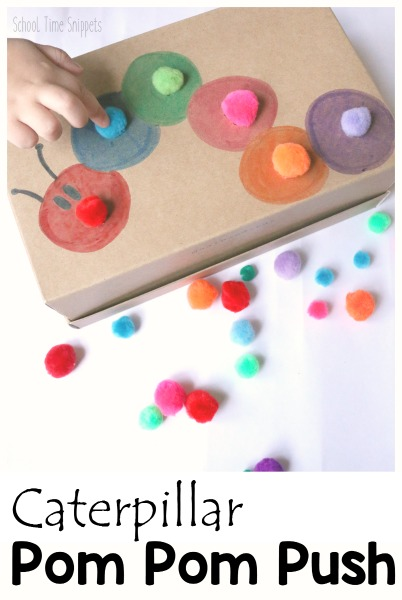 fine motor skills toddler idea