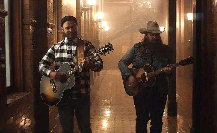 Justin Timberlake Ft Chris Stapleton - Say Something Guitar Chords ...