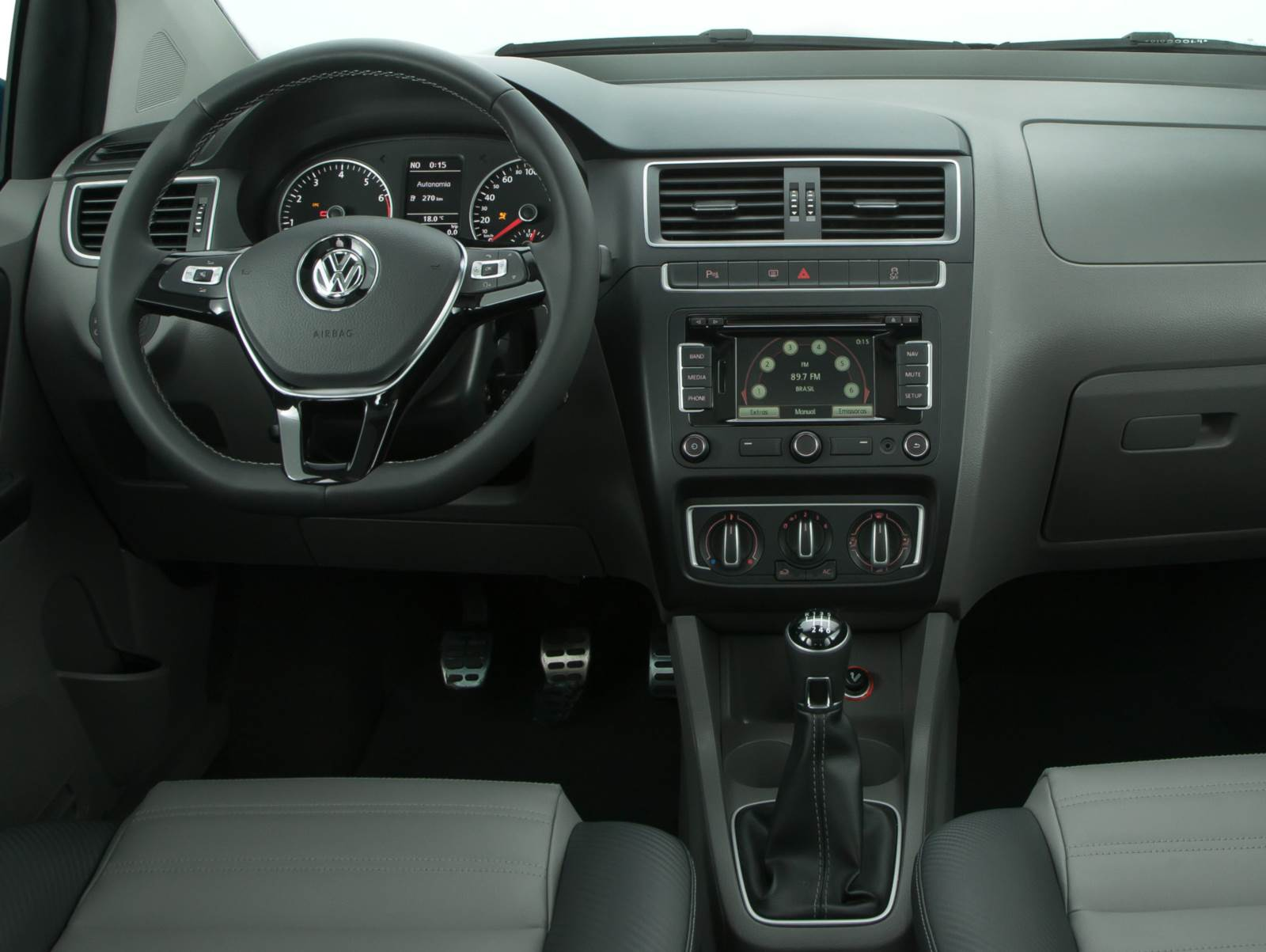 VW Fox 2015 - painel Highline