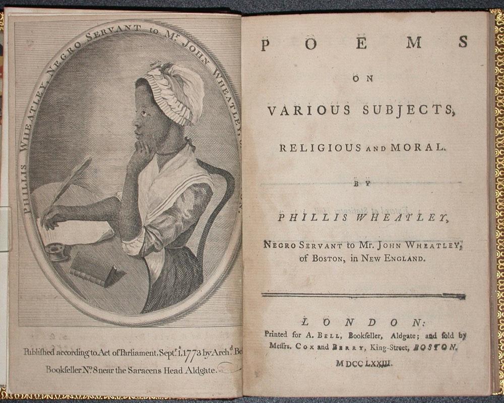 Phillis Wheatley's Earliest Poem