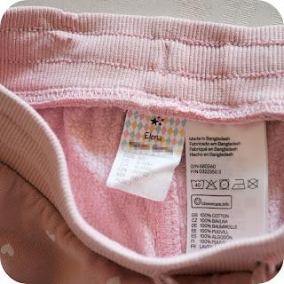 Etiqueta autoadhesiva ropa