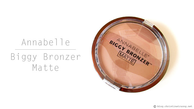 Check out Annabelle Cosmetics Fall 2017 Collection Haul Biggy Zebra Bronzing Powder Bronzer Matte