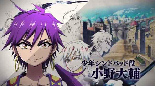 Gempa Bumi Jepang Anime Magi Adventure Of Sinbad Ditunda