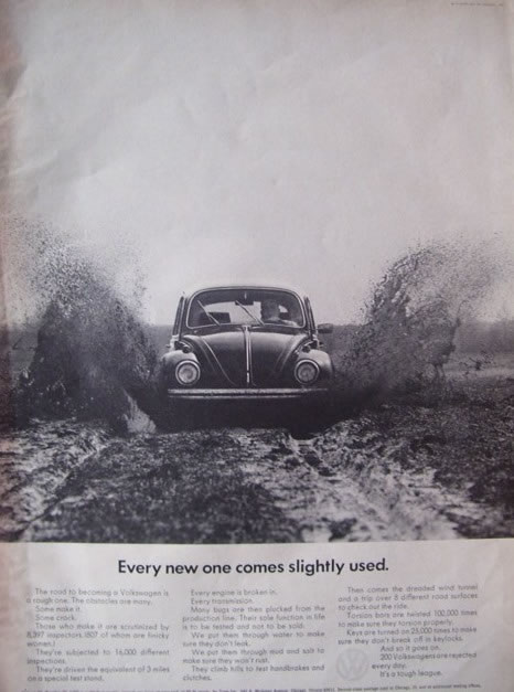 Cool Amp Sweet Vintage Volkswagen Ads Vintage Everyday