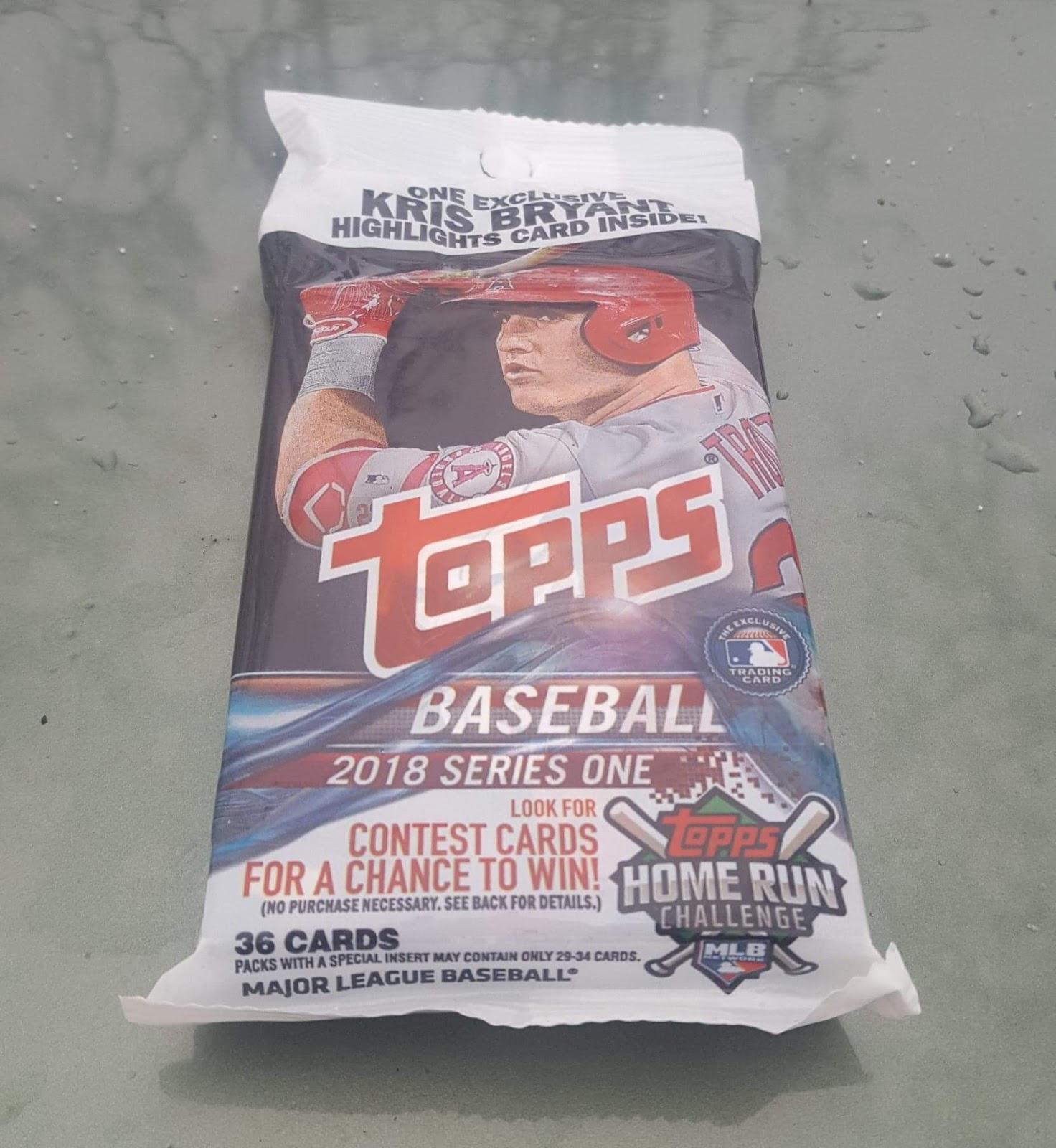 Bdj610s Topps Baseball Card Blog New Year Pack Break 2018 Topps