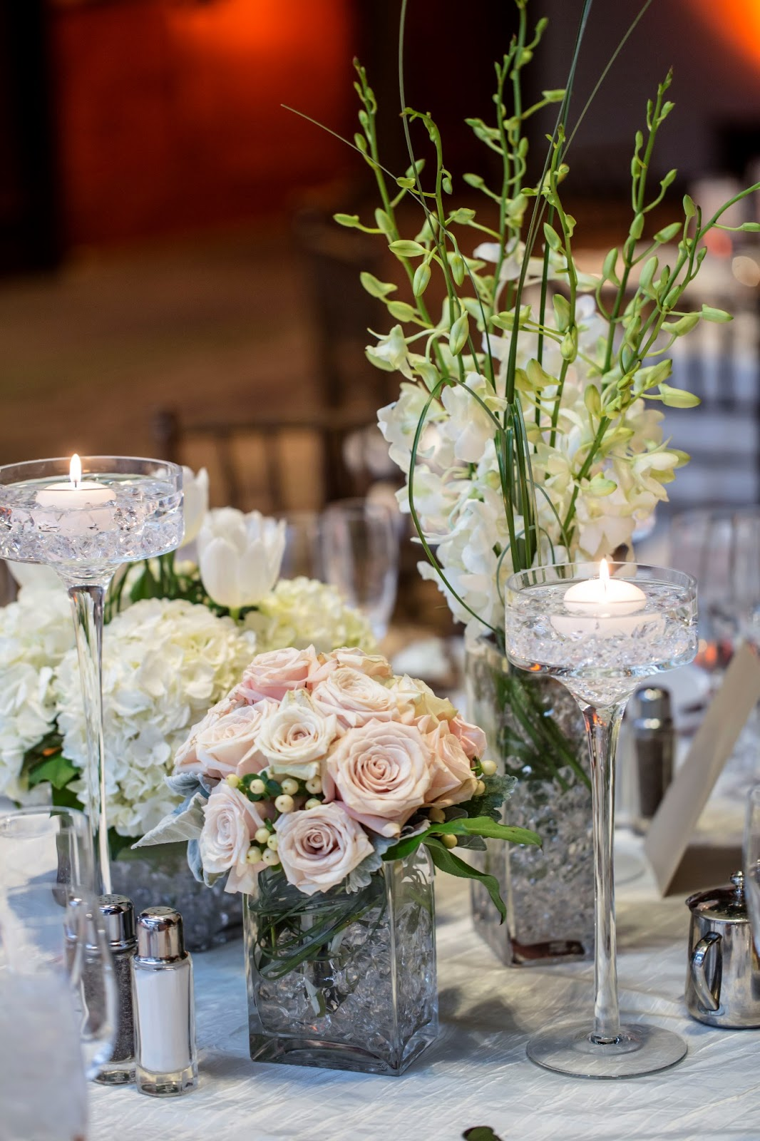 vases different centerpiece flower candles tall tables floral floating three pieces crystal designs type votives centerpieces jeremiah stemmed pour sized