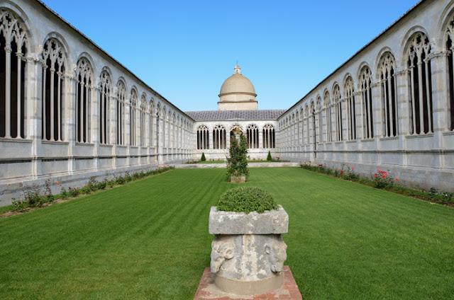 Ponto turístico Camposanto Monumentale em Pisa