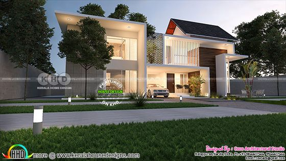 4 BHK modern home 2900 square feet