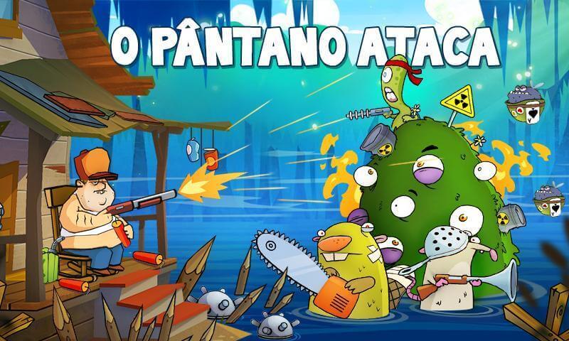 Swamp Attack MOD DINHEIRO INFINITO 4.0.7.95