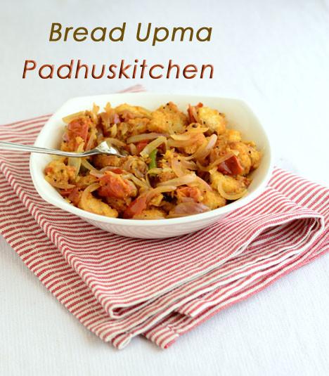 Bread upma recipe how to make bread upma padhuskitchen bread upma forumfinder Choice Image