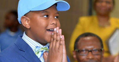 Elijah Precciely, 11-year old student at Southern University