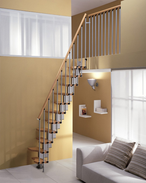 Staircase Ideas For Small Spaces: Minimalism Staircase