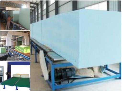 مشروع مصنع إنتاج الاسفنج الصناعي