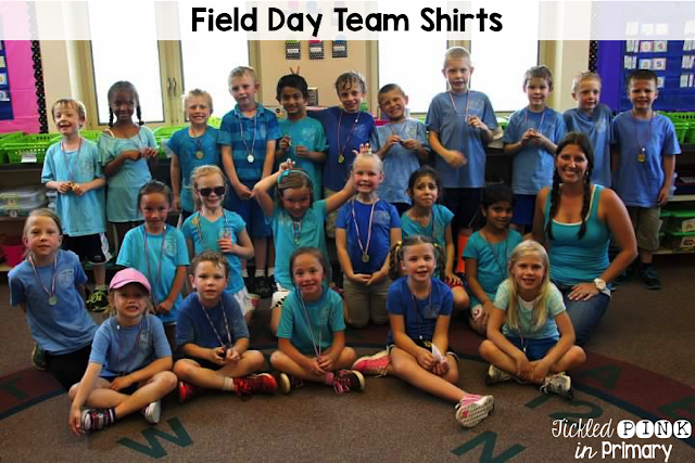 Field Day Games - Field Day Team Shirts