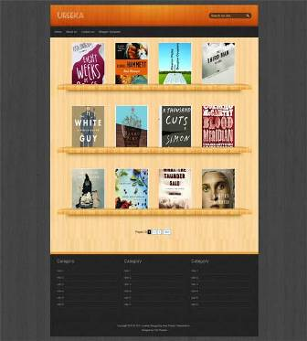 Free Blogger Template Ureeka - Modified and Converted from WordPress