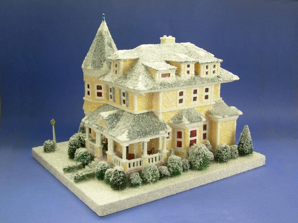 EverythingCroton: AN AMAZING NEW PUTZ HOUSE FROM HOWARD LAMEY