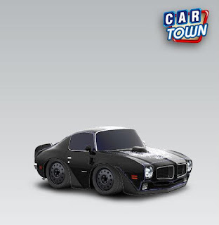 Pontiac Firebird Trans AM 1970 Black by Gabriel